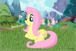 Just Fluttershy by Unexpected0ne