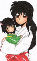 Kagome-Inume by Mitsukichan17