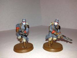 Two Death Korps of Krieg Troopers by Usafkid94