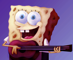 SpongeBob SquarePants by leoslim