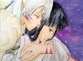 Sesshomaru and Kikyou #253 by Eiki331
