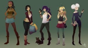 Futurama by TheAshleeH