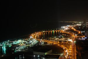 Jeddah at Night by CoffeeBubble