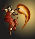 Contest Iconabille: Briju FireBending by Maggy-mitchi