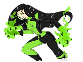 Fan art - Shego by Tatara94