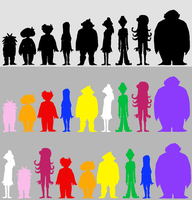Space cast heights/sizes by Breadbones