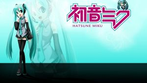 Hatsune Miku Wallpaper by AngelDesigns2013