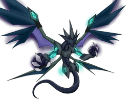 Darkness photon dragon by D3-shadow-wolf