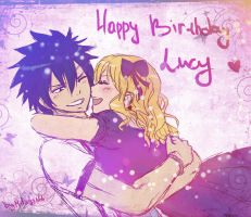 Happy Birthday Lucy 2 by Milady666