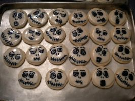 Jack Skellington Cookies! (picture one) by lilmissa103