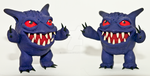 Clay Gengar by Fiendle
