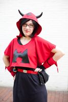 Team Magma Admin Courtney by ChikoxChan