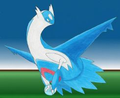 Soul Dew Latios by DragonArtist16