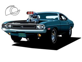 Blower Challenger by 7caco