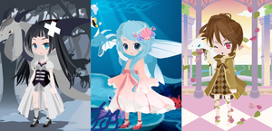 Dream Selfy Free Adopts: Dragon Charmers (Closed) by SeitoAnna