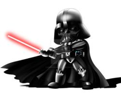 Darth Vader Chibi by ExoroDesigns