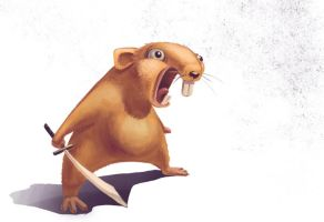 Angry Hamster by In2Eternity