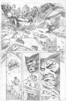 Wolvie Jaggy sample page 1 by fragcomics