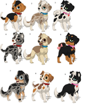 Puppy adoptabels 1 left by The1andonlyRaven