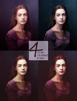 Coloring Set #1 - Les Miserables by KalyTheKrazy