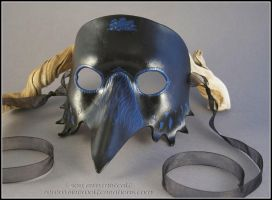 Raven the Trickster mask by EirewolfCreations