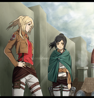Snk/AoT OCs: Return From the 57th Expedition by Shirayuki-no-Mai