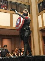 Female Winter Soldier Cosplay by timeless-anarchy