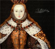 Coronation of Elizabeth I by RafkinsWarning