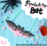 Halloween: Sprinkle Bat by SweetiexCakes