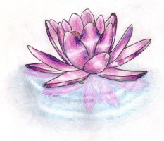 Lotus Flower by tattoo-parlour