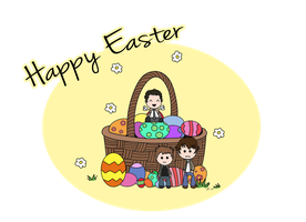 Happy SPN Easter by mishlee