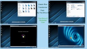 Classic blue Skin pack V2.0 X86 by TheDhruv