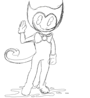 BaTIM: Bendy Sketch by ModernLisart