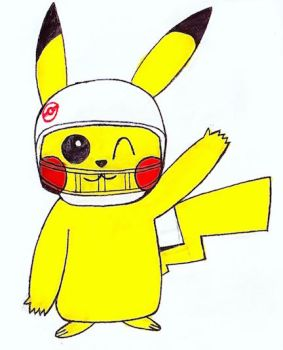 Pikachu Supports Superbowl by GamerStunner27
