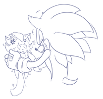 Captions! :Sonic and Shadow Kitty: by V1ciouzMizzAzn