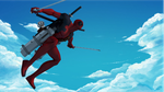 Deadpool versus Titans by deviantloi