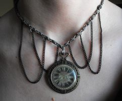 Watch necklace by Eisoptrophobic