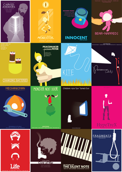 Minimalist Poster - All in One Page by Blakant