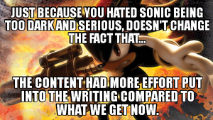 Hating on serious content by Psyco-The-Frog