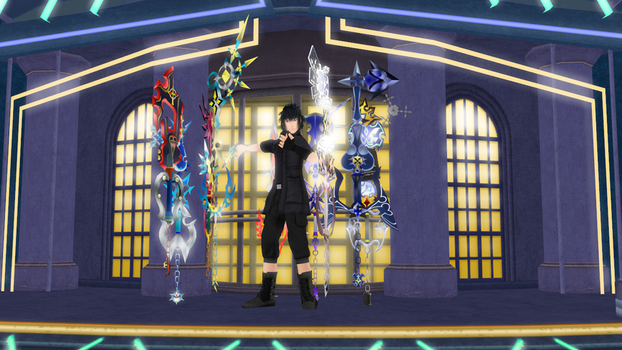 [Test Preview] Keyblade Armiger Arsenal by makaihana975
