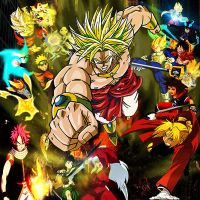 Broly, The Legendary Super Saiyan: Full-On Attack by yugioh1985