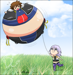 Sora Balloon-inflation- by sora-belly