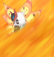 Volcarona used Fiery Dance by xIce-Wolf