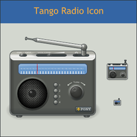 Tango Radio Icon by DarKobra