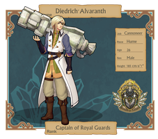 CT : Diedrich Alvaranth by ridekasama