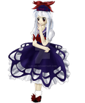 Touhou DoN Stage 4 midboss Keine Kamishirasawa by ElderFlower-spark