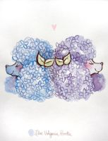 Lilac Vulgaris Poodle by lindsaycampbell