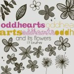 And Its Flowers - Brushes by oddhearts