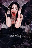 living is too painful by Daywishes