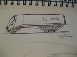 D31MU - U-Haul Truck by ComplxDesign